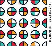 seamless abstract vector...   Shutterstock .eps vector #1125167345