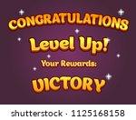 game ui set of congratulations...