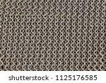 medieval knight's armor mail... | Shutterstock . vector #1125176585