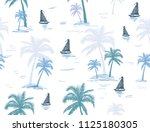 beautiful botanical vector... | Shutterstock .eps vector #1125180305