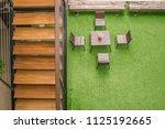 outdoor design concept. top... | Shutterstock . vector #1125192665