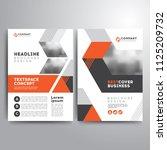 business cover brochure... | Shutterstock .eps vector #1125209732