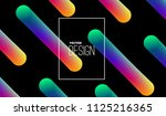 abstract 3d multicolored neon ...   Shutterstock .eps vector #1125216365