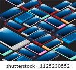 smartphone pattern design | Shutterstock .eps vector #1125230552