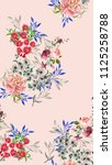 Beautiful Floral Pattern In Th...