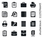 set of simple vector isolated... | Shutterstock .eps vector #1125296645