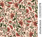 seamless pattern with fantasy... | Shutterstock .eps vector #1125311078