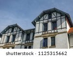 typical basque country house... | Shutterstock . vector #1125315662