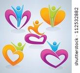vector collection of love  men...   Shutterstock .eps vector #112532882