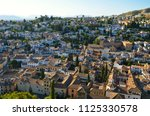cityscape of albaic n district... | Shutterstock . vector #1125330578