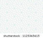geometric vector seamless...   Shutterstock .eps vector #1125365615
