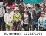 luang prabang  laos   april 13  ... | Shutterstock . vector #1125371096