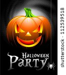 vector halloween party... | Shutterstock .eps vector #112539518