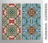 vertical seamless patterns set  ...   Shutterstock .eps vector #1125403202