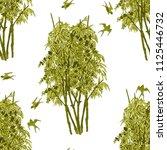 watercolor seamless pattern... | Shutterstock . vector #1125446732