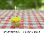a birthday or celebration with ... | Shutterstock . vector #1125471515