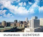 sunset view of new orleans... | Shutterstock . vector #1125472415