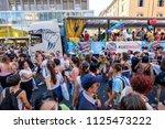 milano pride 2018 ... | Shutterstock . vector #1125473222