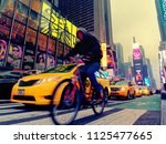 new york city  usa   apr 2018 ... | Shutterstock . vector #1125477665