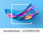 3d render  abstract fashion... | Shutterstock . vector #1125492155
