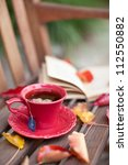 Autumn Cup Of Tea With A Book...