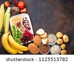 products sources of... | Shutterstock . vector #1125513782