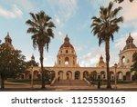 the pasadena city hall main... | Shutterstock . vector #1125530165