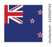 flag of new zealand new zealand ... | Shutterstock .eps vector #1125542762