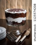 Small photo of Chocolate Brownie Trifle