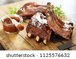 Grilled And Smoked Ribs With...