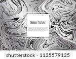 grey  black  white marble...   Shutterstock .eps vector #1125579125
