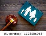 family law  family right... | Shutterstock . vector #1125606065