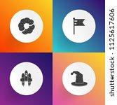 modern  simple vector icon set... | Shutterstock .eps vector #1125617606