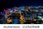 night view of miami beach ... | Shutterstock . vector #1125639608