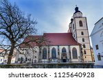 saint mary's city church... | Shutterstock . vector #1125640928