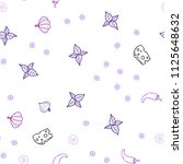 light purple  pink vector... | Shutterstock .eps vector #1125648632