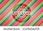 aberrant christmas colors style ...   Shutterstock .eps vector #1125656255