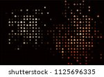dark red vector layout with... | Shutterstock .eps vector #1125696335