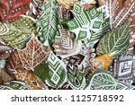 a lot of green and dry... | Shutterstock . vector #1125718592