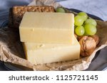 Block Of Aged Cheddar Cheese ...