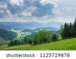 germany  endless black forest... | Shutterstock . vector #1125729878