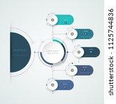 vector illustration information ... | Shutterstock .eps vector #1125744836