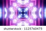 shiny club lights   Shutterstock . vector #1125760475