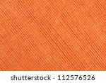 Orange Striped Fabric As...