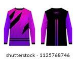 design for sublimation print.... | Shutterstock .eps vector #1125768746
