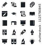 set of vector isolated black... | Shutterstock .eps vector #1125780845
