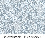 paisley seamless background | Shutterstock .eps vector #1125782078