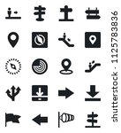 set of vector isolated black... | Shutterstock .eps vector #1125783836