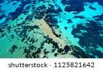 aerial drone bird's eye view... | Shutterstock . vector #1125821642