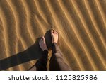 gran canaria  maspalomas dunes  ...   Shutterstock . vector #1125825986